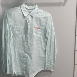 Vineyard Vines Women's Button down blouse